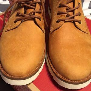 ed7b7a6d66 Vans Shoes - NIB Leather Sahara Boot light brown. Men s 12